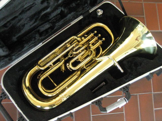 Besson King 2280SP 4 Valve Silver Plated Euphonium